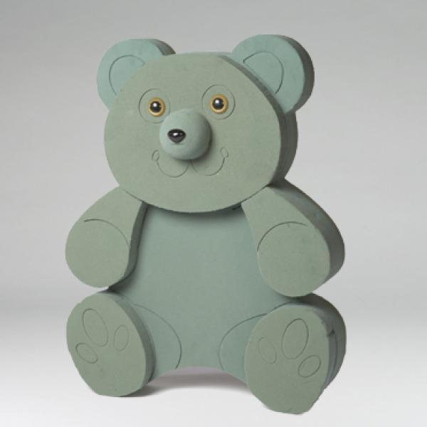 Медведь из пенопласта своими руками 52